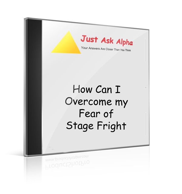 a personal experience of stage fright Download citation | stage fright in sing | drawing on both my own personal experience and that of many colleagues and pupils, i shall describe three kinds of reactions to stage fright the first is the primarily mental reaction of derealization, which involves feeling cut off from fear and.